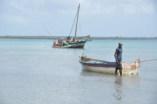 Zanzibar arrival