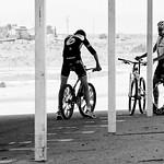 Long, van Summeren, Decker.<br>Image © Anthony Smith/Bike Magazine