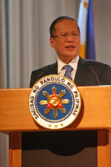 President of the Philippines Benigno Aquino signs new AML laws