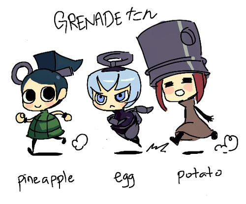 L'il Grenade Girls!