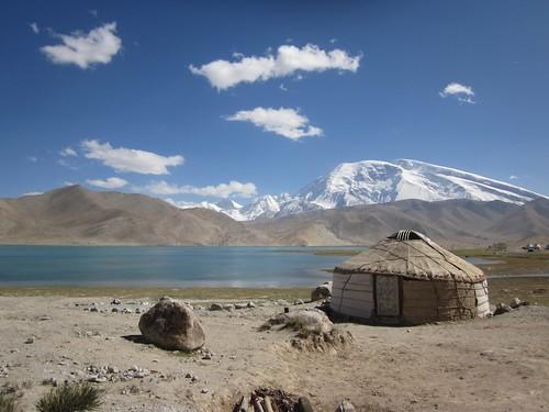 Karakol lake, China