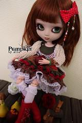 Pumpkin by Azazelle (Ala) Tags: autumn pumpkin doll lolita planning swap pullip custom fc custo jun cornice azazelle
