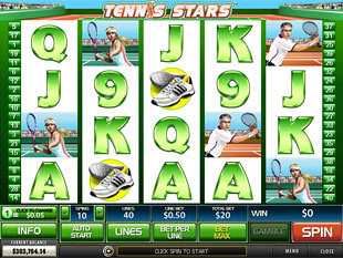 Tennis Stars slot game online review