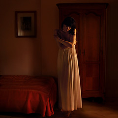 ... (martikson) Tags: light portrait woman room nightdress darknes martikson