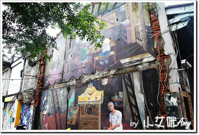 單車環島第四天 (24) 台南市海安路藝術街