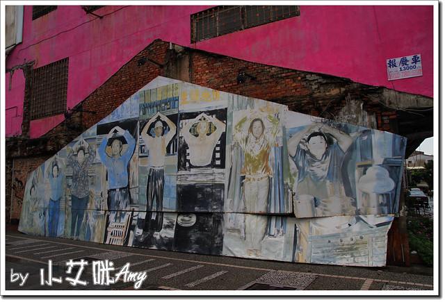 單車環島第四天 (28) 台南市海安路藝術街