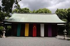 五色の布が鮮やか / Five colors of cloth