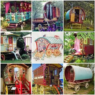 Friday Funspiration: Gypsy wagons