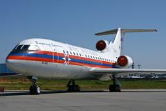 RA-42446 Yak-42D (joseluiscel (Aviapics)) Tags: yak russia moscow spotting dme rusia moscu spotter domodedovo yak42d uudd ra42446 mchsrossii