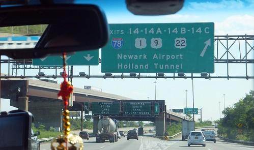 naar Newark