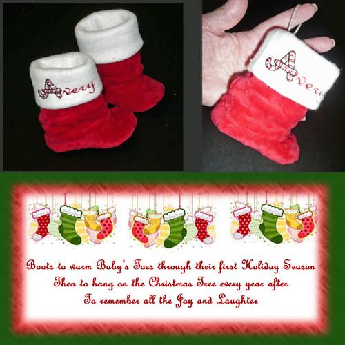 Baby Santa Boots
