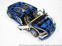 IMG_1453 (Sheepo's Garage) Tags: lego technic bugatti veyron sheepo