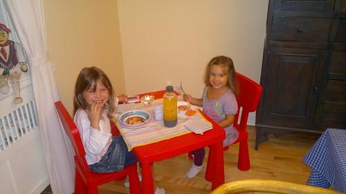 La table des petites by ngoldapple