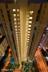 Bird's eye view. (Reggie Wan) Tags: city architecture night singapore asia southeastasia cityscape aerialview hdb publichousing highrisebuilding toapayoh moderncity asiancity reggiewan sonya850 sonyalpha850 gettyimagessingaporeq1