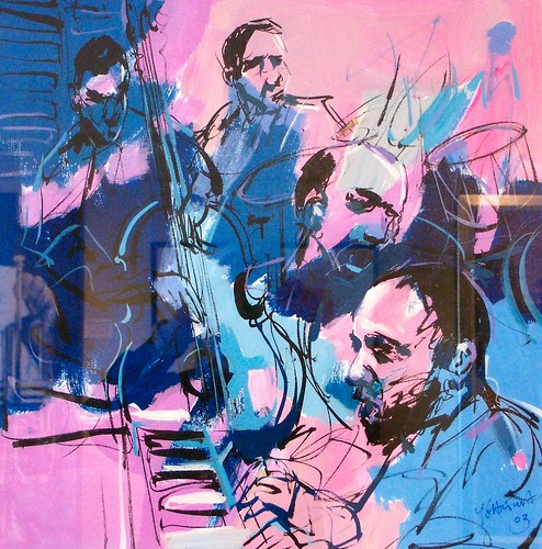 Blues Musicians - Painting - Art