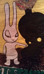 aleister236 (pict ASR°°) und 108 (mc1984) Tags: bunny comic drawing future mutation mc1984 aleister236 annasophieroblespicture