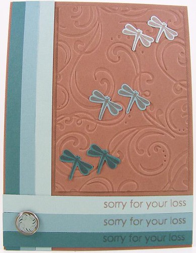 Dragonfly Loss Card