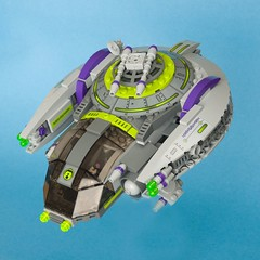 Banshee (ted @ndes) Tags: starwars ship lego space banshee system hunter bounty siouxsie starfighter 2011 fbtb mocmadness