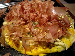 Fried egg with oyster  (MelindaChan^^) Tags: food dinner cuisine japanese restaurant egg mel eat oyster melinda fried  chanmelmel melindachan  friedeggwithoyster
