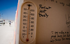 Forecast - hot & dusty