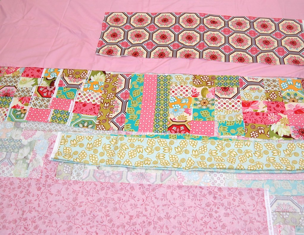 backing of ORB quilt along quilt