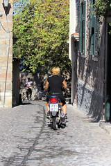 033 the street where we lived (Mark & Naomi Iliff) Tags: greece ελλάδα lesvos lesbos λέσβοσ mithymna μηθυμνα molyvos μολυβοσ ελλαδα
