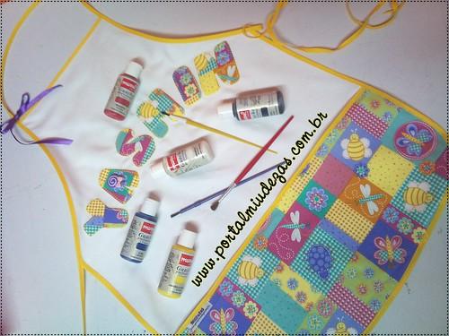 Kit Artes - Avental Personalizado by miudezas_miudezas
