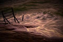 #850C3466- Midnight Waves (Zoemies...) Tags: sea beach waves midnight waters slowshutterspeed balikpapan melawai zoemies