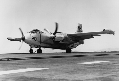 North American AJ-2 VAH-6 USS Lexington (CVA-16) 1956