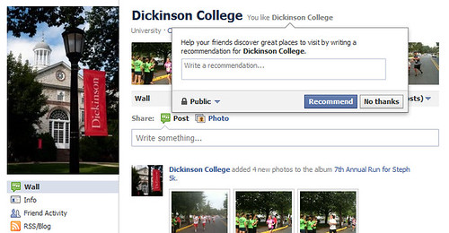 Facebook's new Friends Discover Great Places Feature