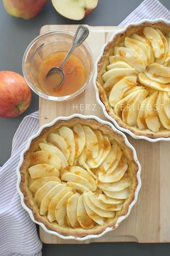 Apfel-Mirabellen-Tarte