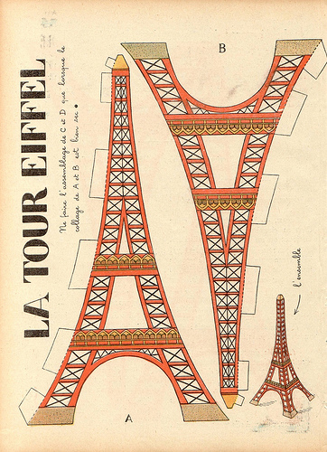 Love Is This Cut Out Eiffel Tower All You Need Cardstock Tape Scissors And A Printer Mine Currently Sitting On The Mantle Over Fireplace