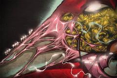 Masterpiece S (GhettoFarceur) Tags: art graffiti cité 09 bandit lacoste ghetto gf paum sarin teshi toimême farceur graffuturism nixamere zeroneuf