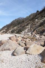 Glacial Erratics and Coastal Bluff (sandy richard) Tags: usa newyork unitedstates geology wildwood wadingriver wildwoodstatepark newyorkstateparks sandyrichard longislandgeology sandrarichard