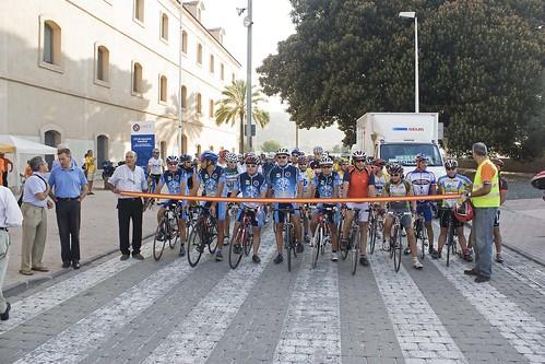 Salida marcha ciclista carthagineses y romanos