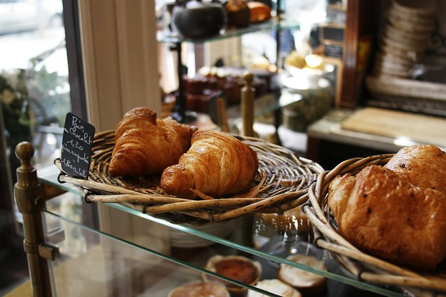 Croissants from Pain et Chocolat