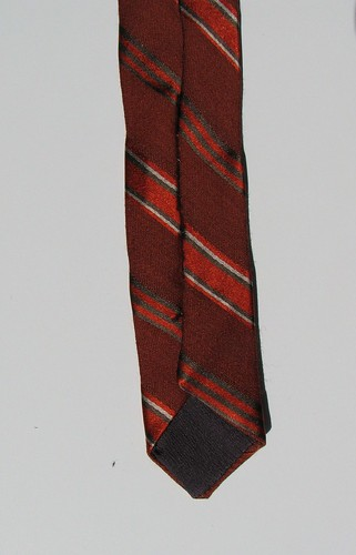 tail end of necktie