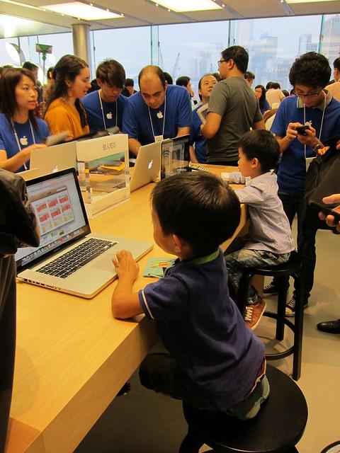 Apple Store @ IFC Mall, Hong Kong