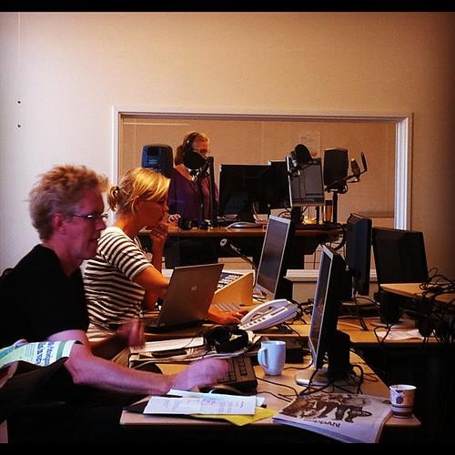 Veckans första torrsändning för @alltidnyheter På måndag drar vi igång på riktigt.