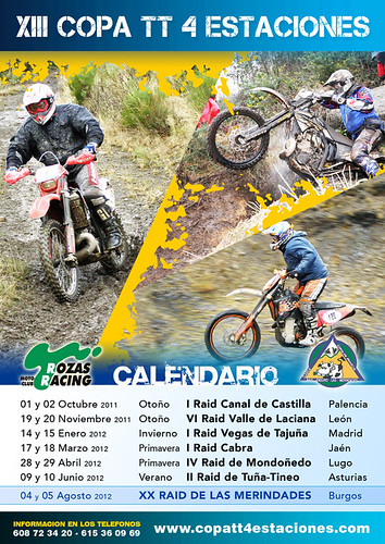 Calendario Copa TT Enduro 4 Estaciones 2011-2012