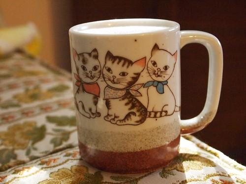 the kitten mug