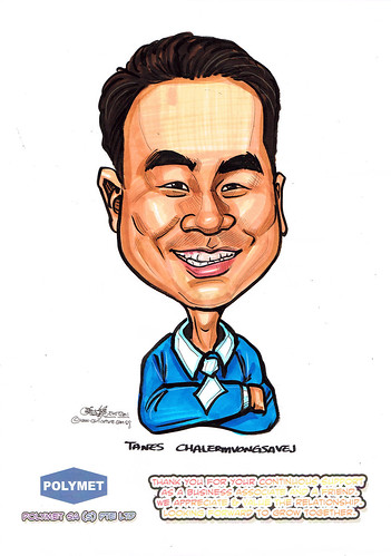 Caricatures for Polymet - 23