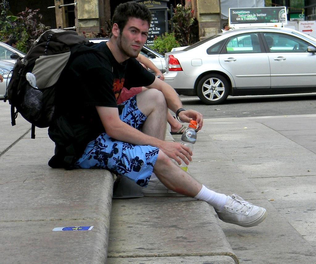 Gay athletic hunk sprayed with cum