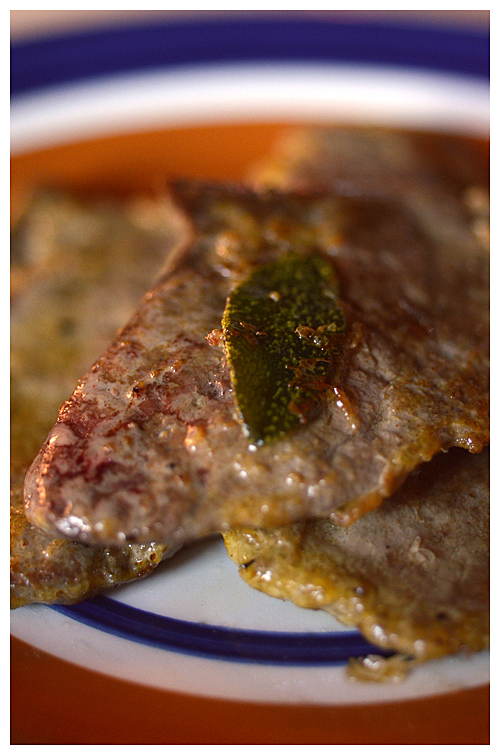 Veal Liver and Sage© by Haalo