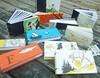 Nursery Rhyme Books (MyHandboundBooks) Tags: bookbinding nurseryrhymes chainstitch myhandboundbooks
