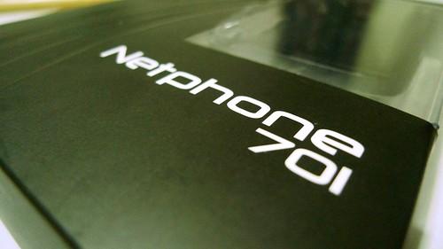 Unboxing Smart Netphone 701