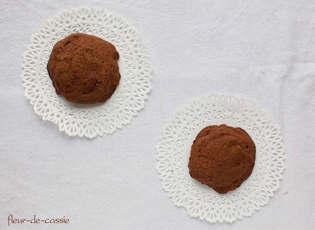 печенье шоколадно-апельсиновое