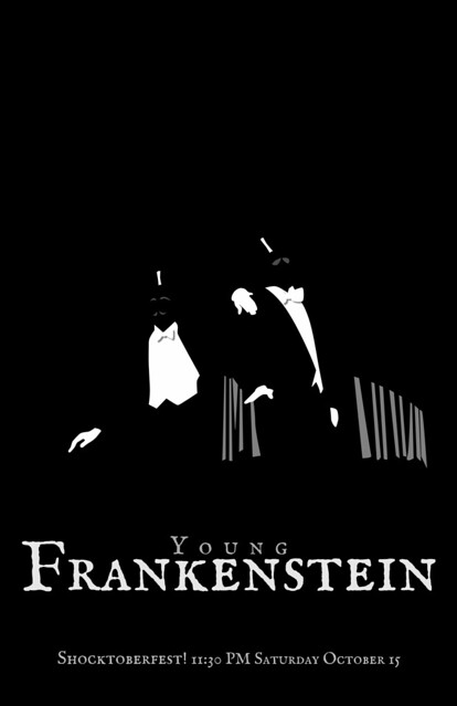 Young Frankenstein Minimalist Movie Poster by avhell