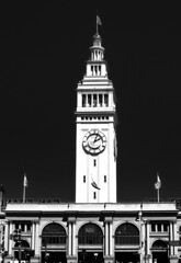 San Francisco by Tony - Ferry Building tower (Tony_Roman_Photography) Tags: sanfrancisco sightseeing ferrybuilding copyrighted photobytony monchrome x100 bytony fujipix tonyroman tonyromanphotography tonyromanphoto imagebytonyromancopyrighted copyrightedbyanthonyproman