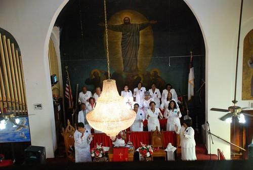 Gospel choir in Harlem